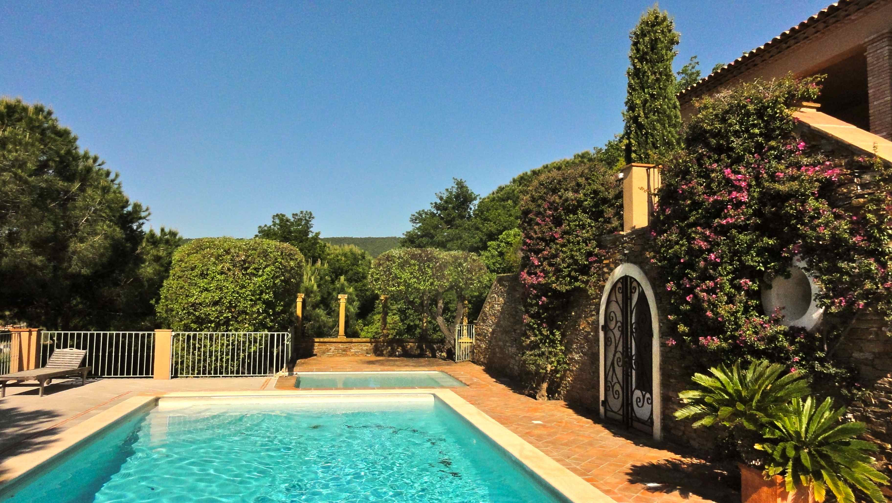 Holiday villa rental in Ramatuelle, near Pampellone beach