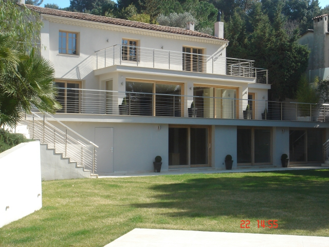 Villa in Cannes after renovation